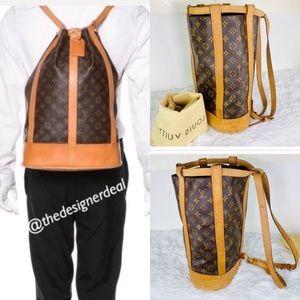 💯%🌹Authentic LOUIS VUITTON PM Monogram Backpack